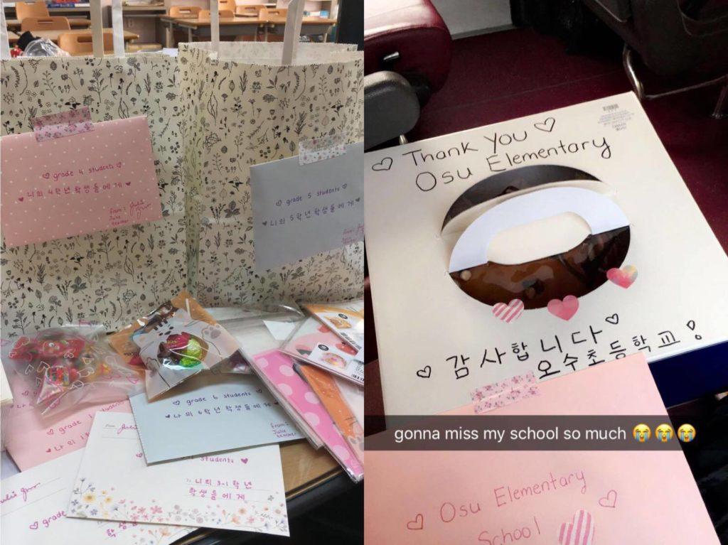 Teaching at Osu Elementary School! - Julie in Korea